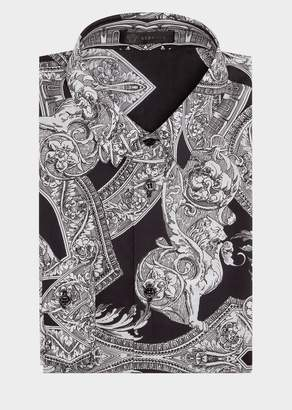 Versace Barocco Istante Poplin Shirt