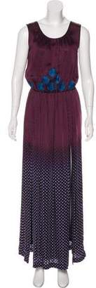 Vineet Bahl Patterned Maxi Dress