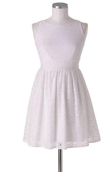 Delia's Lace Tie-Back Dress