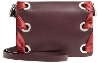 Topshop Premium Leather Grace Crossbody Bag