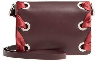 Topshop Premium Leather Grace Crossbody Bag