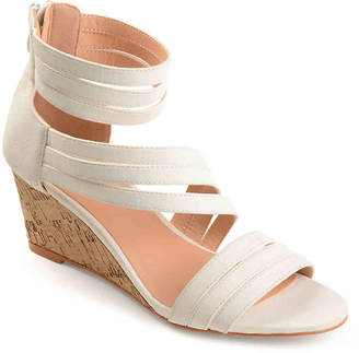 Journee Collection Loki Wedge Sandal - Women's