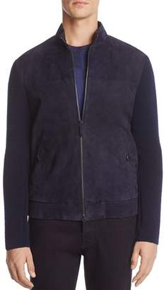 Armani Collezioni Mixed Media Jacket