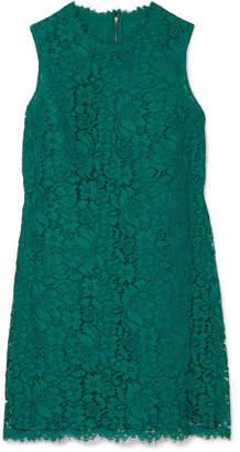 Dolce & Gabbana Lace Mini Dress - Green