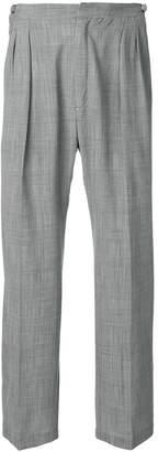 Tonello Cs straight leg loose fit trousers