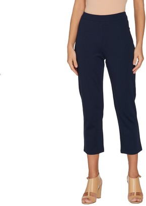 Linea By Louis Dell'olio by Louis Dell'Olio Petite Ponte Crop Pants