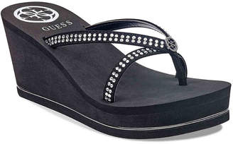 GUESS Selya Wedge Sandal - Women's