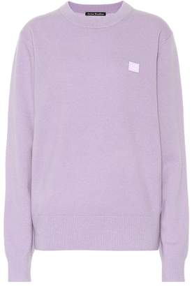 Acne Studios Face wool sweater