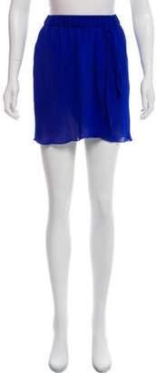 Giada Forte Wrap Mini Skirt