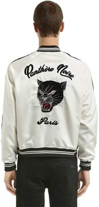 The Kooples Panther Embroidered Bomber Jacket