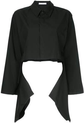 ASTRAET cropped shirt