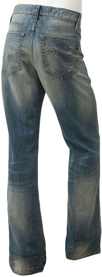 Rock & Republic torque straight jeans