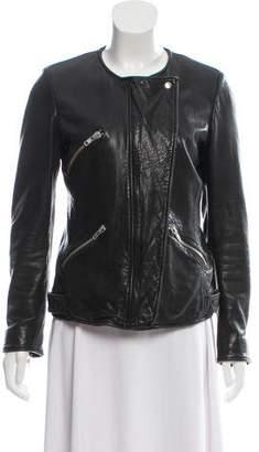 Isabel Marant Leather Moto Jacket
