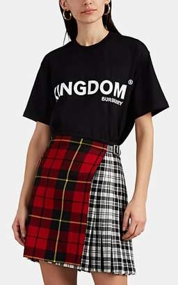 "Burberry Women's ""Kingdom"" Jersey T-Shirt - Black"