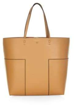 Tory Burch Leather Block Tote
