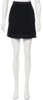 Andrew Gn Pre-Fall 2016 Wool Mini Skirt w/ Tags