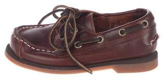 Timberland Boys' Leather Boat Shoes
