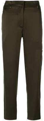 Theory cropped straight trousers