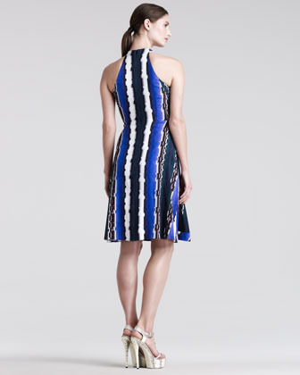 Peter Pilotto Che VSL Racerback Printed Dress