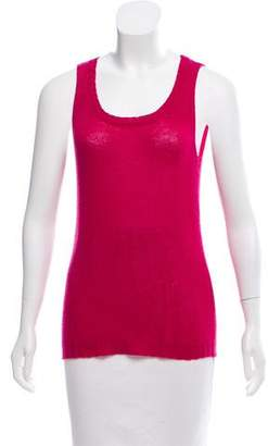 Nina Ricci Cashmere Sleeveless Top