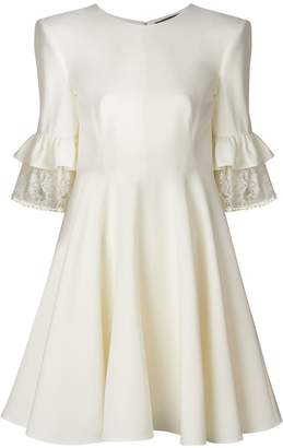Alexander McQueen pleated back dress