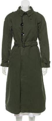 G Star Long Collard Coat