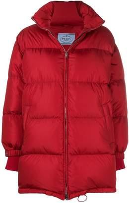 Prada oversized puffer jacket