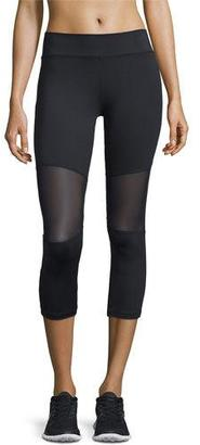 Varley Aileen 3/4-Length Compression Tights, Black $100 thestylecure.com