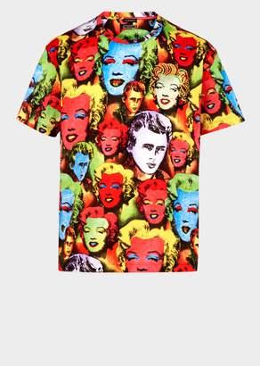 Versace Pop Art Print Tribute T-shirt
