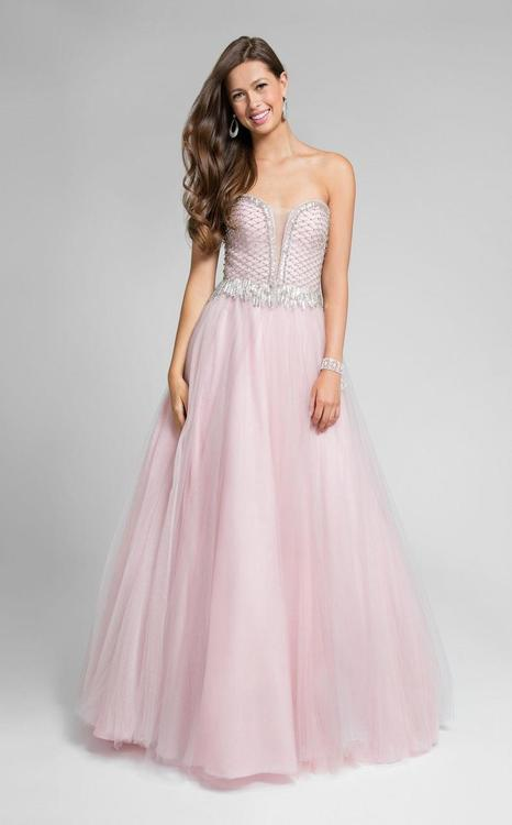 Terani Prom - Stunning Beaded Sweetheart Polyester A-Line Dress 1711P2847