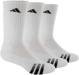 adidas Men's 3-Pack Cushioned Crew Socks