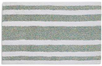 bluebellgray Mingled-Stripe Bath Rug