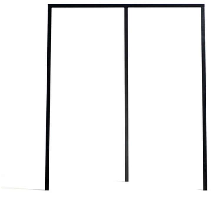 Hay - Loop Stand Wardrobe (groß), Schwarz