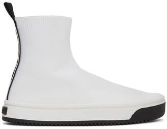 Marc Jacobs (マーク ジェイコブス) - Marc Jacobs ホワイト Dart ソックス スニーカー