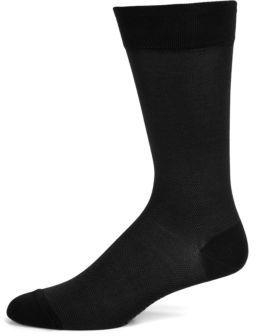 Marcoliani Cotton-Blend Dress Socks $30 thestylecure.com