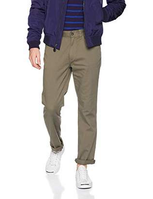 Nautica Men's Classic Fit Flat Front Straight 5 Pocket Pant
