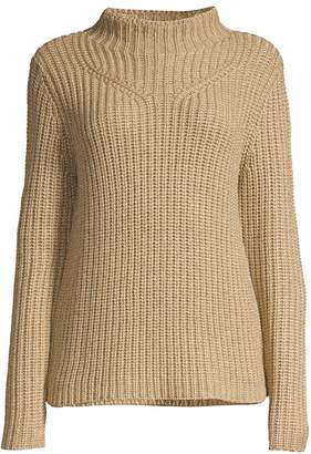 Elie Tahari Alara Funnelneck Sweater