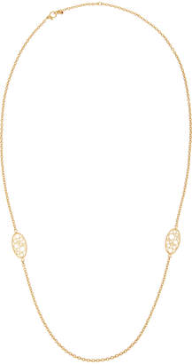 Roberto Coin Bollicine 18k Yellow Gold Small 2-Station Long Necklace
