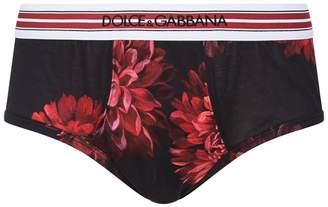 Dolce & Gabbana Brando Flower Briefs