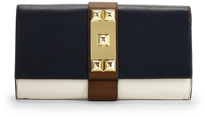 Louise Clutch Navy Combo