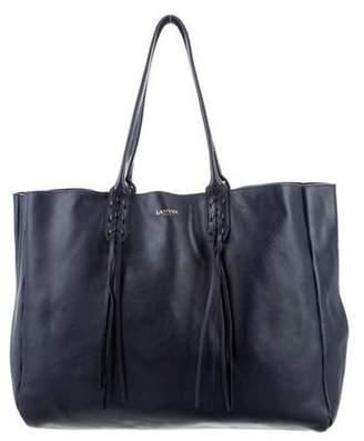 Lanvin Leather Shopper Tote