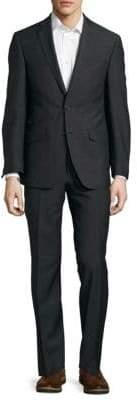 Notch-Lapel Wool Suit