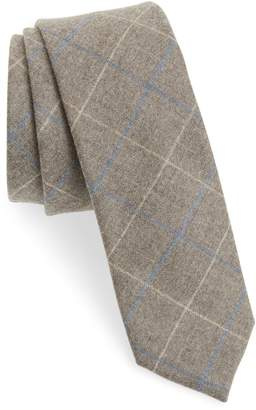 The Tie Bar Biella Windowpane Wool Tie