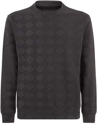 Emporio Armani Woven Diamond Sweatshirt