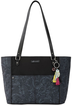 The Sak 108779 Artist Circle Zip Top Tote Bag