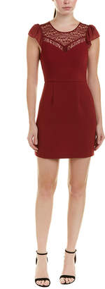 BCBGeneration Shift Mini Lace Dress