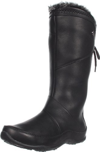 The North Face Women's Janey II Luxe Boot,Black/Black,9 M US