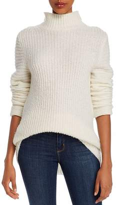 Helmut Lang Ghost Split-Neck Lightweight Sweater