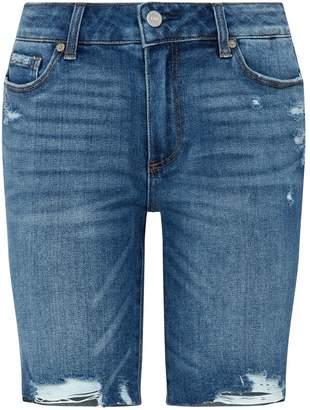 Paige Denim Cut-Off Jax Denim Shorts