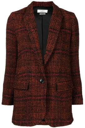 Etoile Isabel Marant checked single-breasted blazer